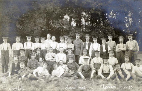 13th Loyal North Lancashire, Lytham Hall Park, 1915