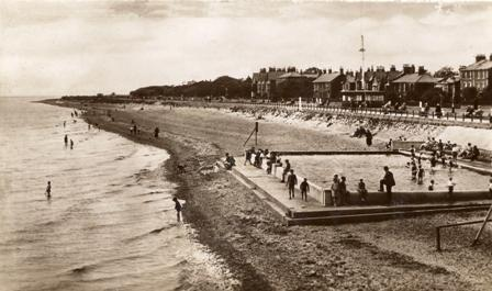 West Beach, Lytham in the 1930s