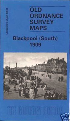 Blackpool South Old Ordnance Survey Map 1909