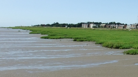 West Beach, Lytham in 2009.