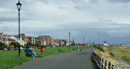 Lytham Seafront & the famous greensward.