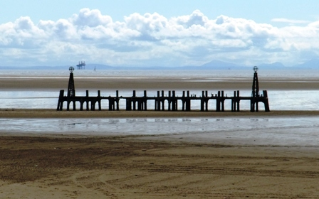 The jetty, once part of St.Annes Pier.