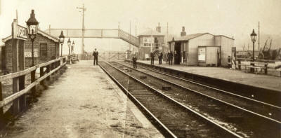 The first Ansdell Station stood at Ansdell Road, by the footbridge and was originally known as Ansdell's Gate as it ran just behind Starr Hills, home of the artist Richard Ansdell.
