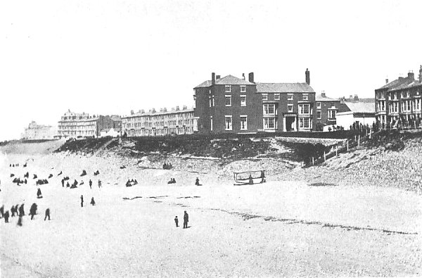 Bailey's (Metropole) Hotel and the Claremont Park Estate viewed from North Pier c1867