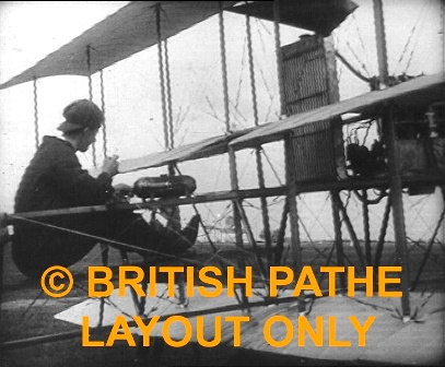 Blackpool Aviation Meeting 1910 Pathe - Aviators.
