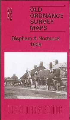 Blackpool Bispham and Norbreck Old Ordnance Survey Map 1909