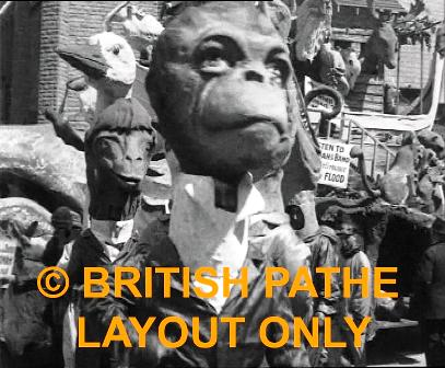Blackpool Carnival - Pathe 1923
