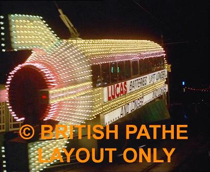Blackpool Illuminations - Pathe 1969