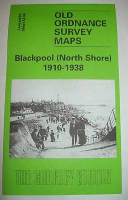 2006 Blackpool North Shore Old Ordnance Survey Map 1910-1938