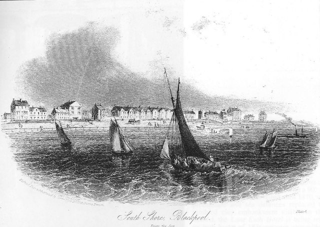 South Shore, Blackpool, in the 1850s