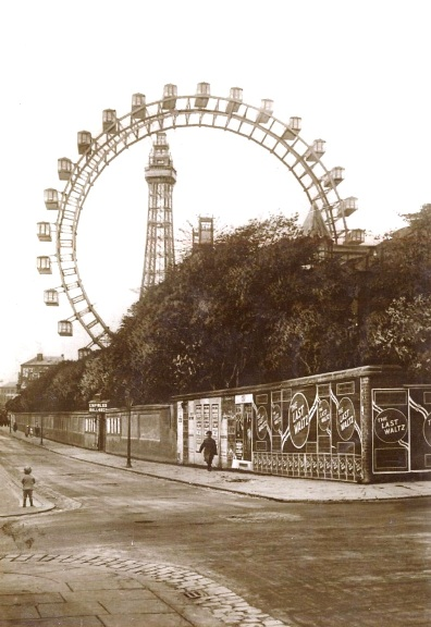 The Big Wheel Blackpool, viewed from Adelaide Street c1918.