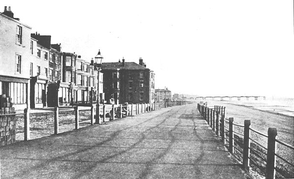 Central Promenade (near Church Street), Blackpool c1867.