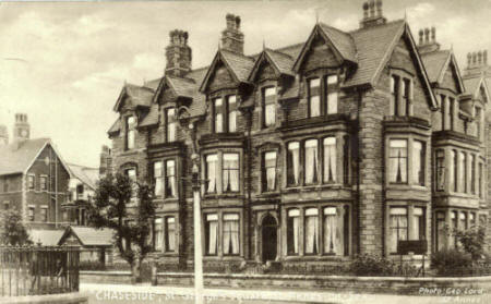 Chaseside Convalescent Hospital, at the corner of Beach Road and St. George's Square, St.Annes