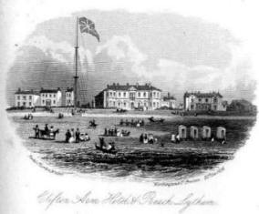 The Clifton Arms Hotel, Lytham in 1854