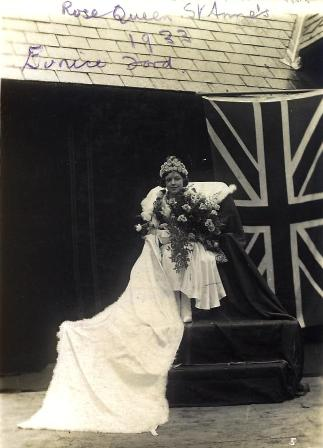 Photo of Eunice Lord, St.Annes Hospital Carnival Day, 1933