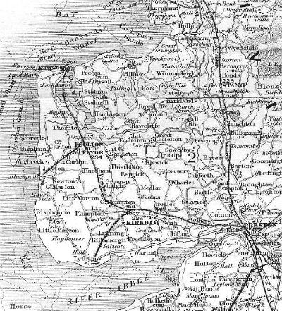 Railways in the Fyle in the 1850s