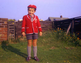 A pupil from Gwydr House School c1974
