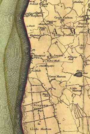 Greenwood's Map of Lancashire, 1818