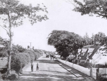 Heyhouses Lane in the 1930s.