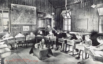 A classroom at Kilgrimol School, Clifton Drive, St.Annes
