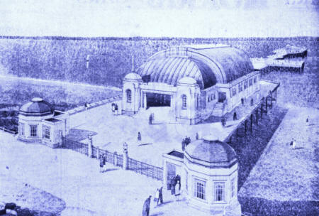 PROPOSED NEW PAVILION FOR LYTHAM PIER 1928