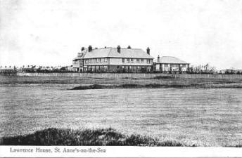 Lawrence House School at Links Gate opened in 1905