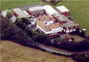Aerial view of Lawrence House School at Links Gate