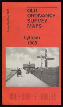Lytham Old Ordnance Survey Map 1908