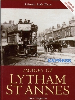 softback, with a view of a tram in Lytham.