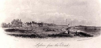 Lytham Green in the 1850s
