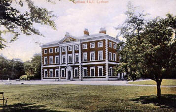 Lytham Hall in the early 1900s