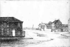 Clifton Square & Luke Fishers House, Lytham c1850