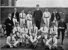 Cricket Team, Lytham College c1901