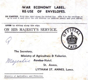 Ministry of Agriculture & Fisheries label