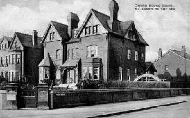 Oxford House School, St.Annes c1905