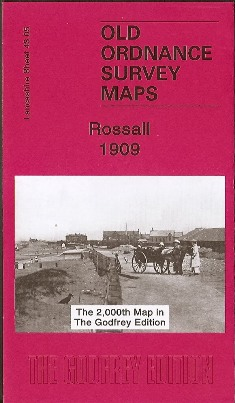 2006 Rossall near Fleetwood Old Ordnance Survey Map 1909