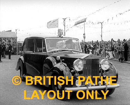 Royal Tour of Lancashire, Pathe 1955
