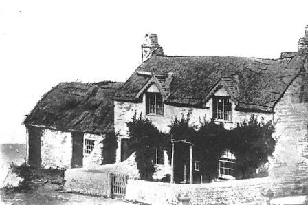 Some of the cottages at Fumbler's Hill (Cocker Street area), demolished in the 1860s to build the promenade fronting Claremont Park.