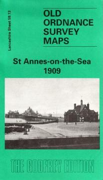 St Annes-on the-Sea Old Ordnance Survey Map 1909