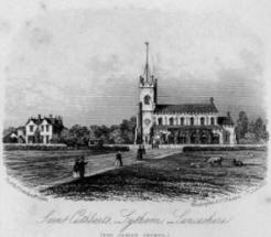 St.Cuthberts Church, Lytham,1855