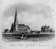 St.Johns Church, Lytham, 1855