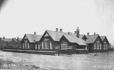 St.Anne's Council School, Sydney Street, opened 1910.