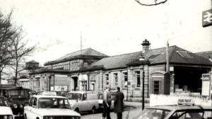 St.Annes Railway Station, viewed from The Crescent.