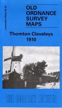 Thornton Cleveleys Old Ordnance Survey Map 1910