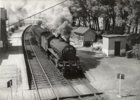 Wrea Green Station c1960