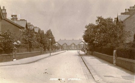 Ansdell Council School viewed from Derby Road c1912