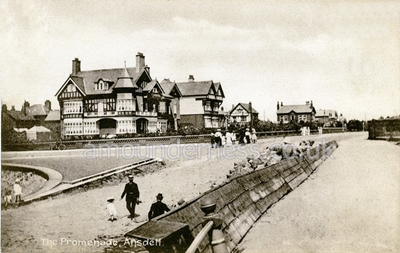 Ansdell Road & Slade, Fairhaven c1905.