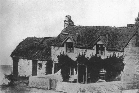 Cottages at Fumblers Hill, Blackpool c1860.