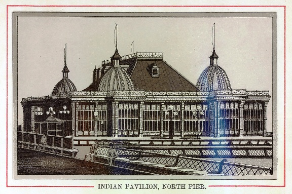 The Indian Pavilion, North Pier, Blackpool, in the 1880s.