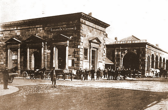 Blackpool (North) Railway Station 1846-1896.